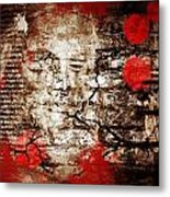 Beneath Faiths Wall Metal Print by JC Photography and Art