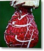 Berry Banana Kabob Metal Print by Susan Herber
