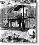 Bessemer Steel, 1876 Metal Print by Granger