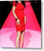 Bethenny Frankel In Attendance For The Metal Print by Everett