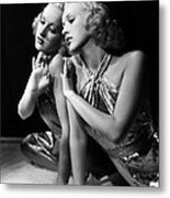 Betty Grable, 1930s Metal Print by Everett