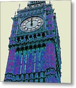 Big Blue Ben Metal Print by Beth Saffer