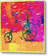 Bike 1a Metal Print by Mauro Celotti