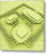 Biotech Metal Print by Igor Kislev