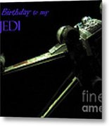 Birthday Card Metal Print by Micah May