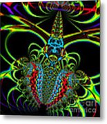Black Widow Metal Print by Wingsdomain Art and Photography