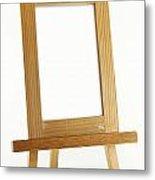 Blank Vertical Wood Frame Metal Print by Blink Images