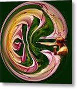 Blowing Up The World. Metal Print by Jean Noren