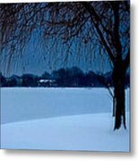 Blue Morning At Argyle Metal Print by Vicki Jauron