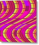 Bold Swirl  Metal Print by Louisa Knight