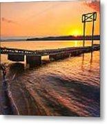 Booker T Dock 3 Metal Print by Steven Llorca