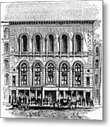 Boston: Tremont Temple Metal Print by Granger
