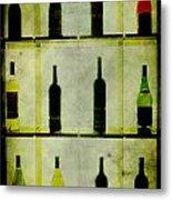 Bottles Metal Print by Alexander Bakumenko