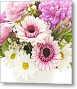 Bouquet Of Flowers Metal Print by Elena Elisseeva