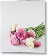 Bouquet Of Ranunculus Metal Print by Elin Enger