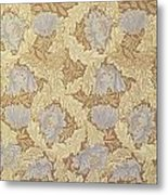 Bower Wallpaper Design Metal Print by William Morris