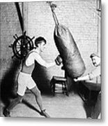 Boxing: Bat Nelson, 1920 Metal Print by Granger