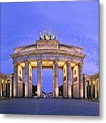 Brandenburger Tor Berlin Metal Print by Greta Schmidt