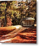 Brewer Cabin Metal Print by Jai Johnson