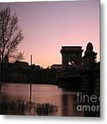 Bridge Metal Print by Odon Czintos