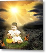 Bringing Innocence Back To Our Lives Metal Print by Rozalia Toth