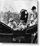 British Royal Family. Center, From Left Metal Print by Everett