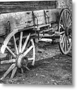 Broken Past Metal Print by Greg and Chrystal Mimbs