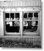Broken Windows Metal Print by Cheryl Young