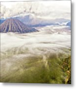 Bromo Volcano Crater Metal Print by Photography by Daniel Frauchiger, Switzerland