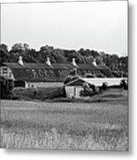 Brook Hill Dairy Farm Metal Print by Jan Faul