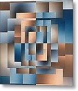 Brushed 15 Metal Print by Tim Allen