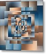 Brushed 16 Metal Print by Tim Allen