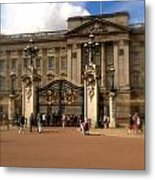 Buckingham Palace Metal Print by John Colley