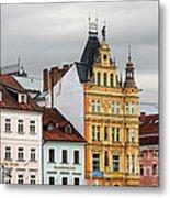Budweis - Pearl Of Bohemia - Czech Republic Metal Print by Christine Till