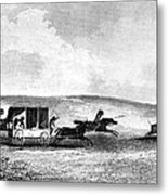 Buffalo Hunt, 1841 Metal Print by Granger