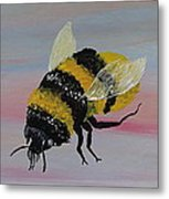 Bumble Bee Metal Print by Mark Moore