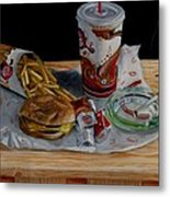 Burger King Value Meal No. 1 Metal Print by Thomas Weeks
