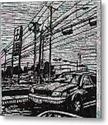Burnet Road Metal Print by William Cauthern
