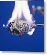 Burning Sugar Metal Print by Andrew Lambert Photography