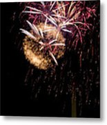 Bursts Over Washington Metal Print by David Hahn