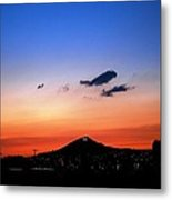 Butte Montana Sunset Metal Print by Kevin Bone