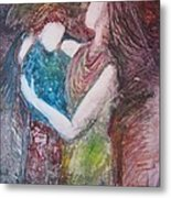 By Your Side Metal Print by Deborah Nell