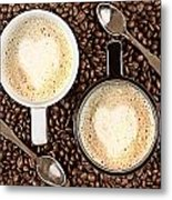 Caffe Latte For Two Metal Print by Gert Lavsen