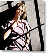 Caged, Eleanor Parker, 1950 Metal Print by Everett