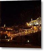Calahorra At Night Metal Print by RicardMN Photography