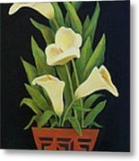 Calla Lilies Metal Print by Jane Landry  Read