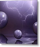 Calm Before The Storm Metal Print by Shane Bechler