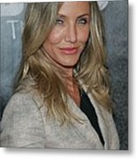 Cameron Diaz At A Public Appearance Metal Print by Everett