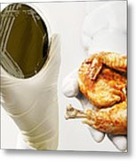 Campylobacter Food Poisoning Metal Print by Tim Vernon, Lth Nhs Trust
