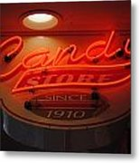 Candy Metal Print by Skip Willits